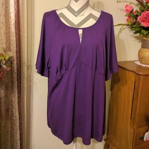 JMS Purple Blouse